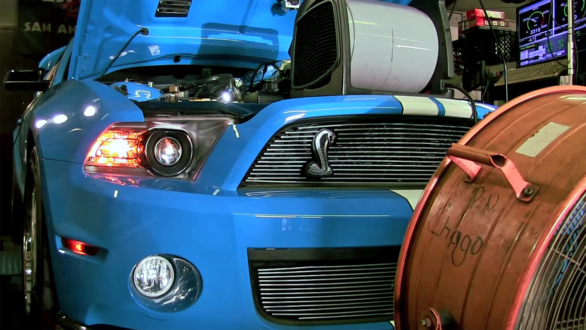 Kenne Bell GT500 brings 1,000 horsepower to the dyno and the street