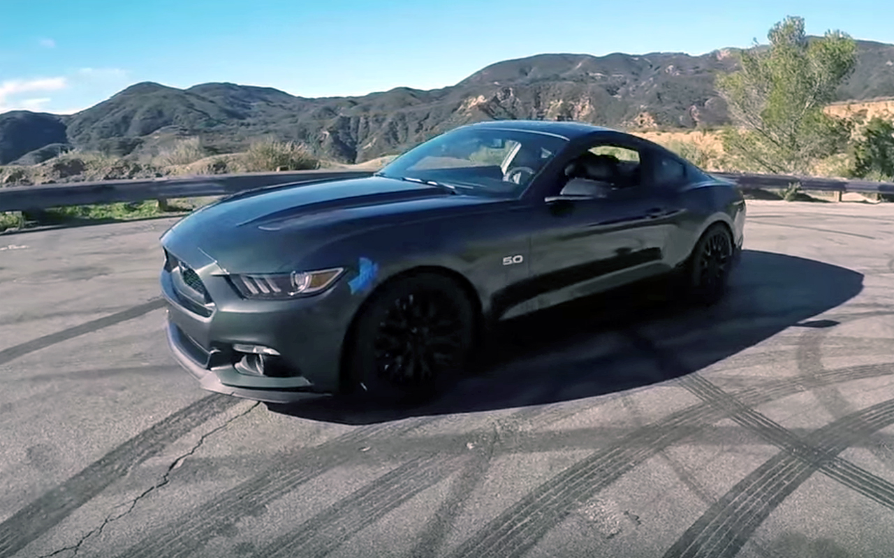 """Full Bolt On"" Modified 2015 Mustang GT gets the Smoking Tire treatment"