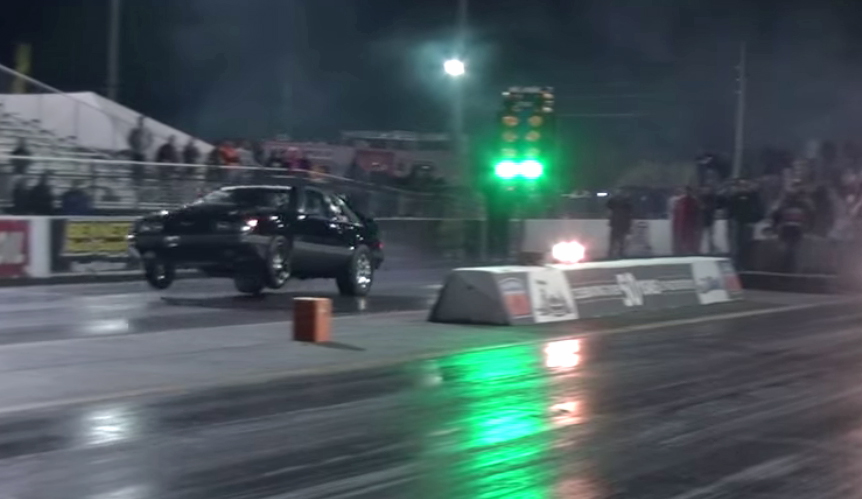 Nitrous-fueled Mustang takes on turbocharged Trans Am