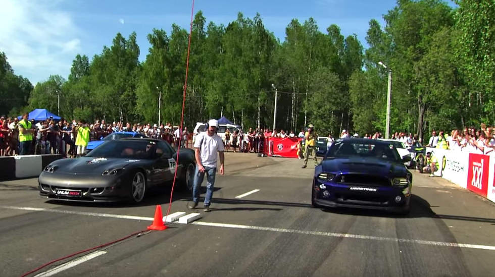 Stock Mustang Shelby GT500 holds its own against the world
