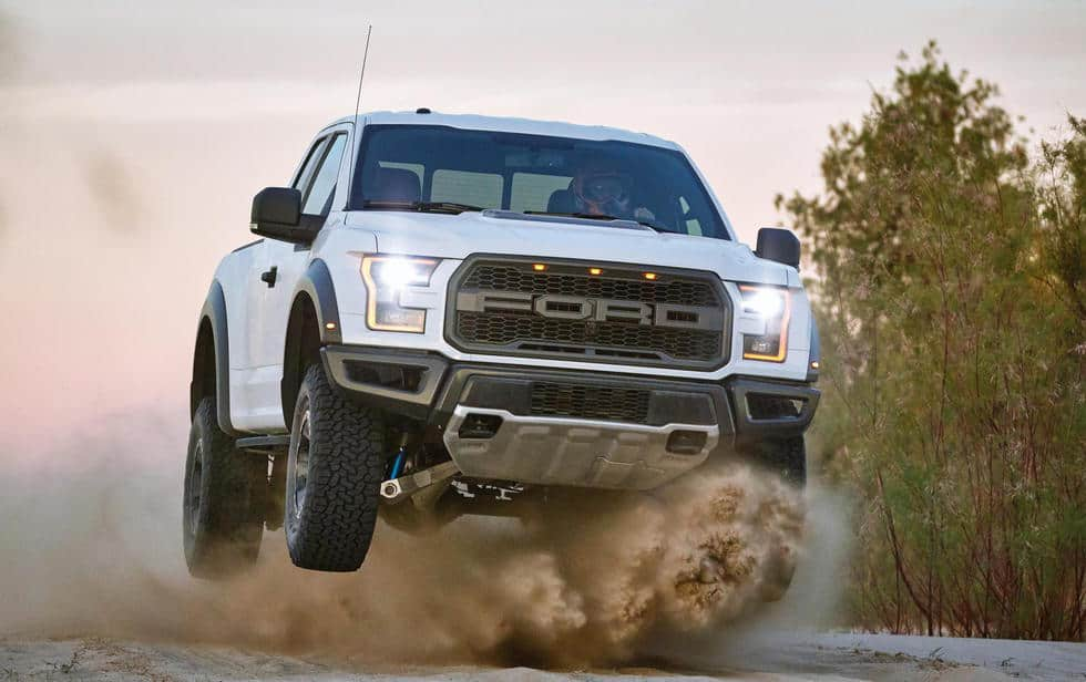 Watch The All-New Ford Raptor Do What It Does Best