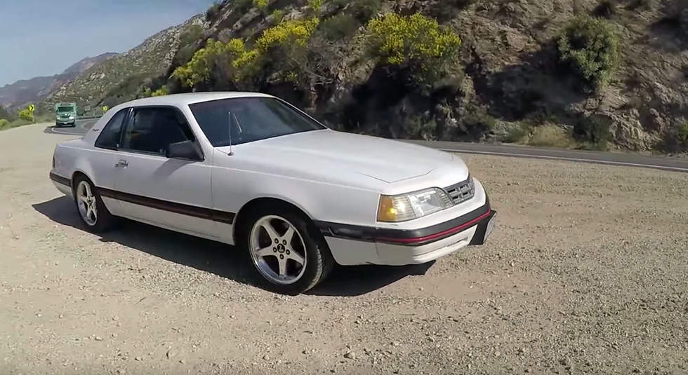 1988 Thunderbird Becomes Canyon Carver Thanks to Mustang Cobra IRS