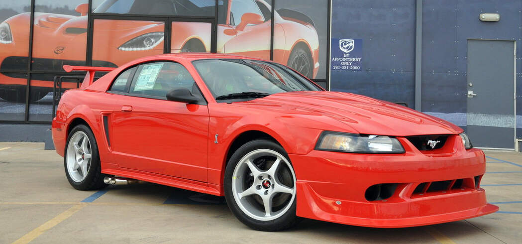 Turn back time with this 85-mile 2000 Mustang Cobra R