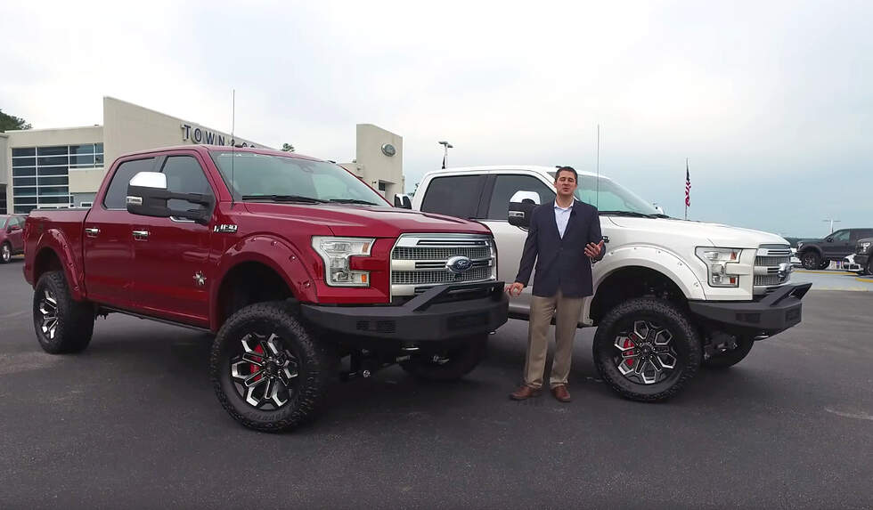 "Ford F150 Platinum ""Black Widow"" editions are dressed to impress"
