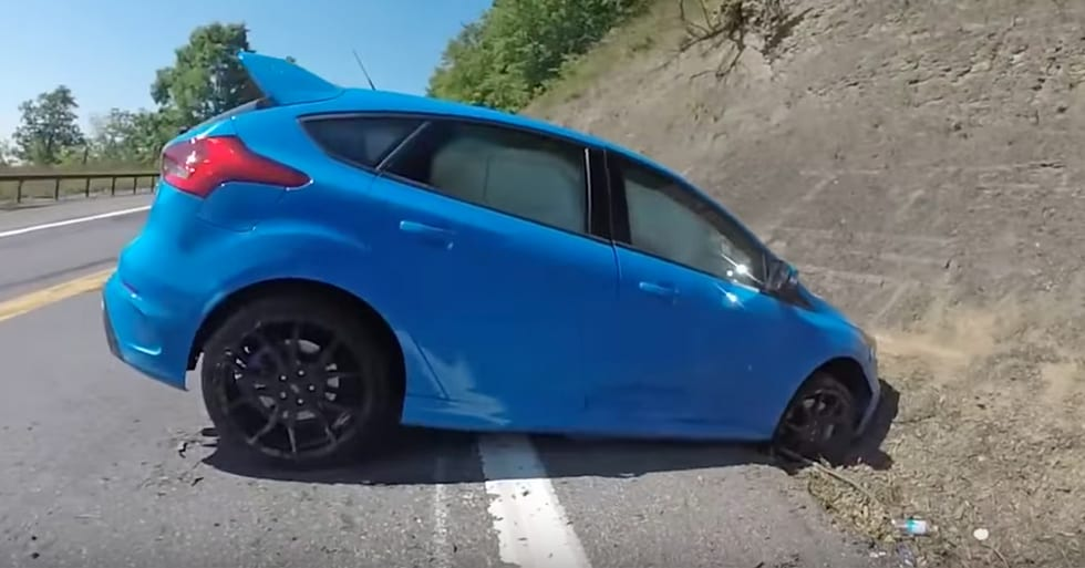 This Focus RS Driver's Drifting Days are Short Lived