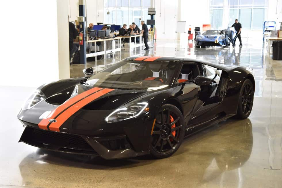 First 2017 Ford GT Rolls Off The Line