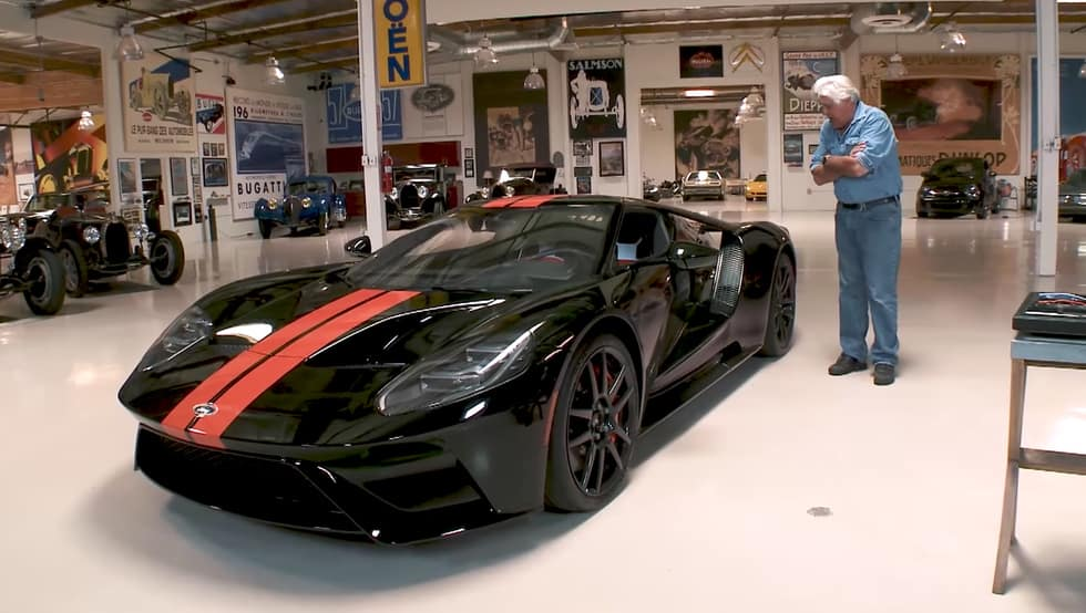 Watch Jay Leno's in-depth tour of his new 2017 Ford GT