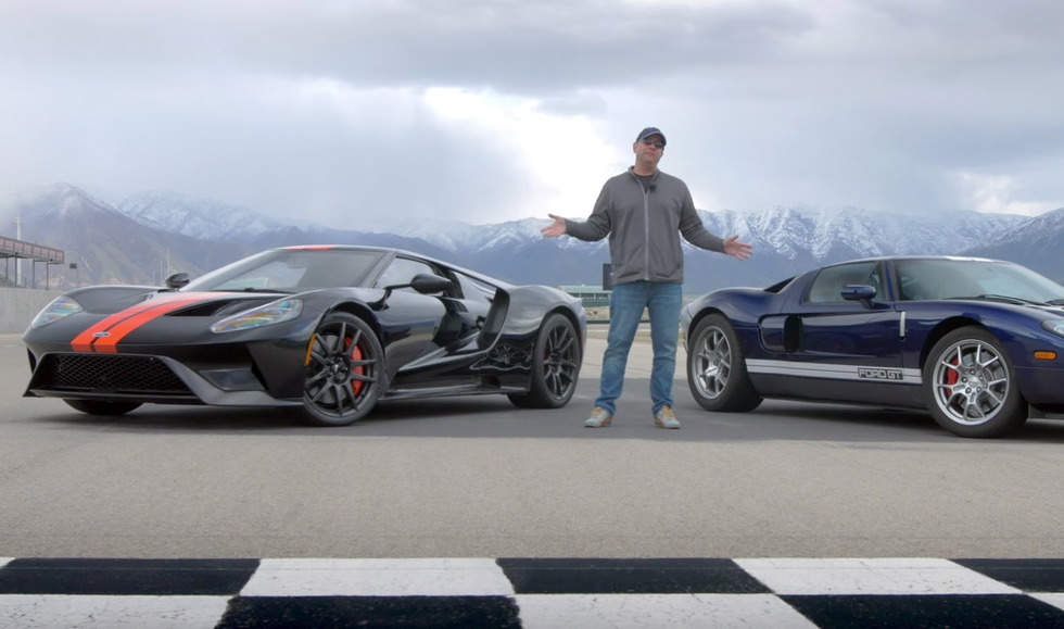 Quick Take: 2017 Ford GT vs. 2005 Ford GT
