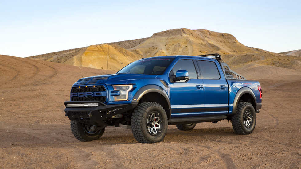 Meet The 525 Horsepower Shelby Baja Ford F 150 Raptor