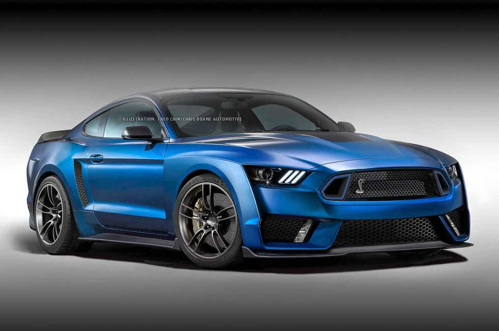 700 horsepower Mustang Shelby GT500 Announced