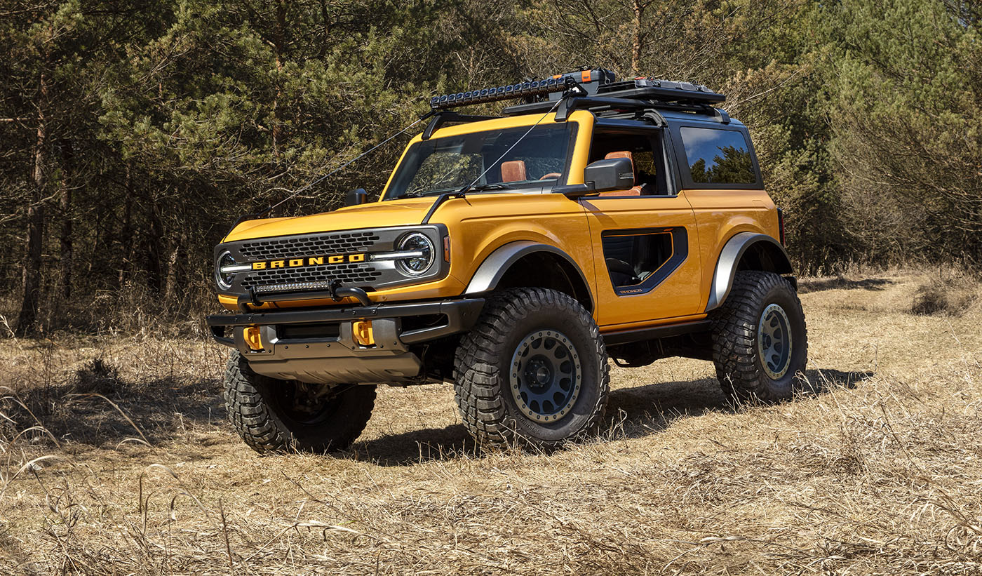 The Ford Bronco is Back and it's Glorious
