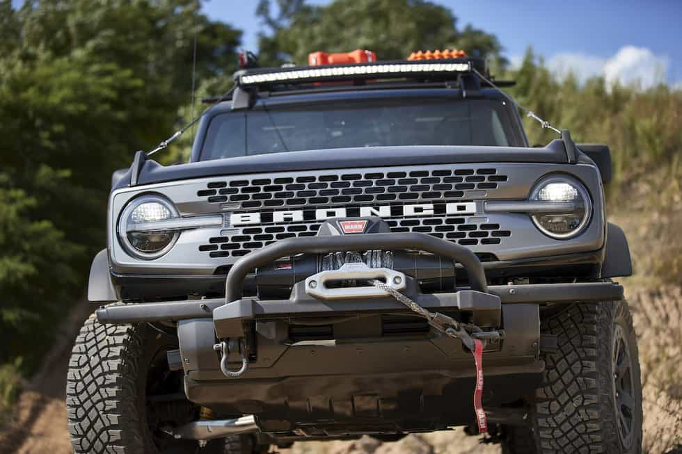 Ford Shows Off New Bronco Adventure Concepts